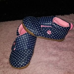 "Carter NWOT velcro ""running"" shoes. Sz 4.5 [baby]"